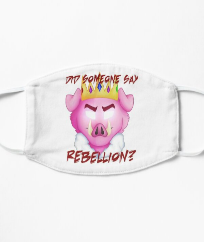 Masks for Technoblade - Did someone say rebellion? TR0206 Flat Mask